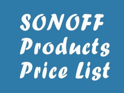 Sonoff Price List in BD